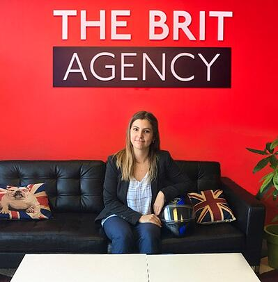 Michaela Bayley - Social Media Specialist - The Brit Agency