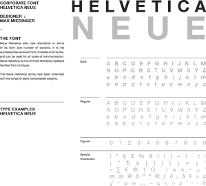 brand style guide typographical guidelines