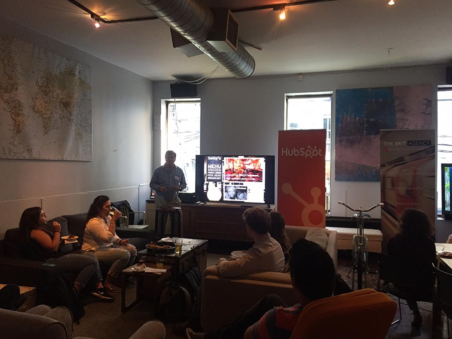 The Brit Agency - Hubspot Events