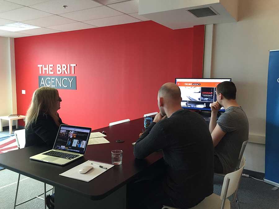 The Brit Agency - Work
