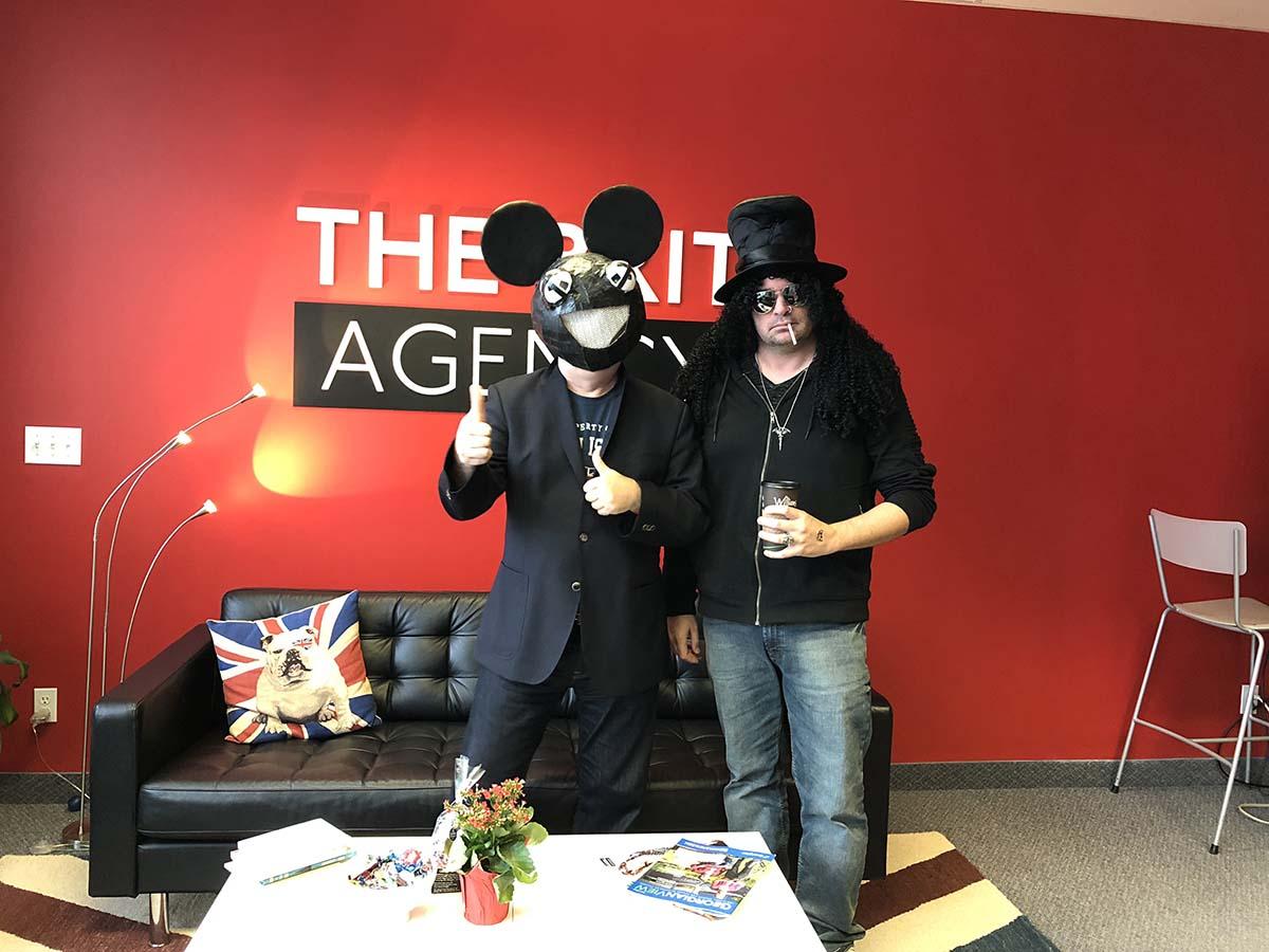 The Brit Agency - Halloween 2018